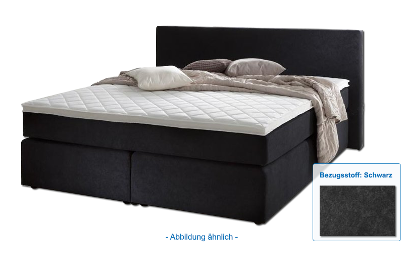 sun garden doppelbett boxspringbett bx 430 140x200 cm. Black Bedroom Furniture Sets. Home Design Ideas